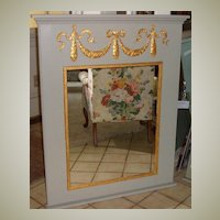 Mirror in Pineapple Trumeau Designed Free Shipping