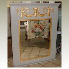 Mirror in Pineapple Trumeau Designed