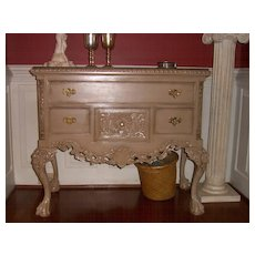 Painted Commode or Credenza