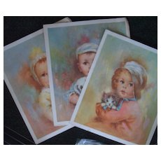 Collection of Kroger Baby Lithographs