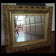 Pierced Gesso Mirror