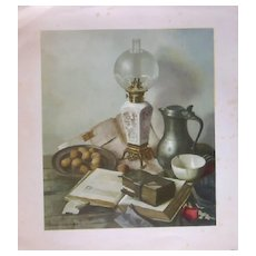 Hank Bos Fruit Stilllife Lithograph Prints