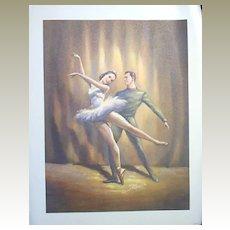 Frederick Ballerina Lithographs-Set of Three (3)