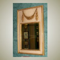Trumeau Mirror in Country French Design