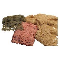 Beaded Crochet Neck Scarf