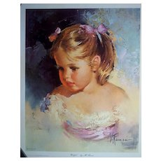 "Vintage Children's Portrait ""Wistful"" by Runci"