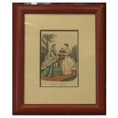 Fashion Ladies Framed Prints