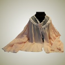 Bed Jacket Vintage 40's  Small