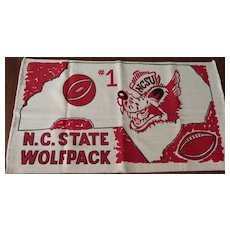 N.C. State Rug or Wallhanging