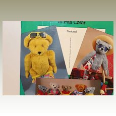 Teddy Bear Photo Postcards-Menten