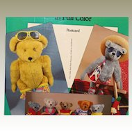 Teddy Bear Photo Postcards-Menten