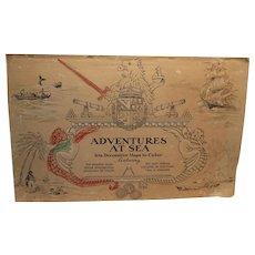 Coloring Book -Adventures at Sea