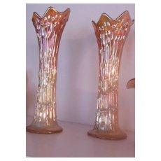 Carnival Glass Vases