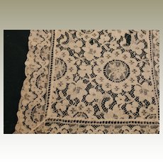 Lace Scarf or Napkin-Vintage