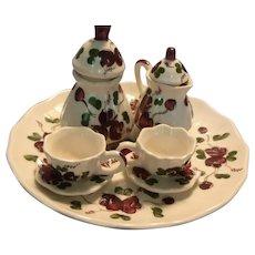 China Tea Set Hand and Heart