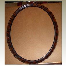 Tiger Veener Oval Picture Frame
