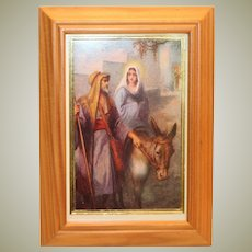 Mary and Joseph Traveling