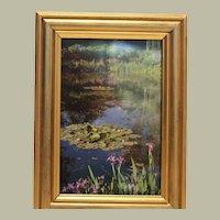 Gardens at Gilverny-Monet FREE S&H