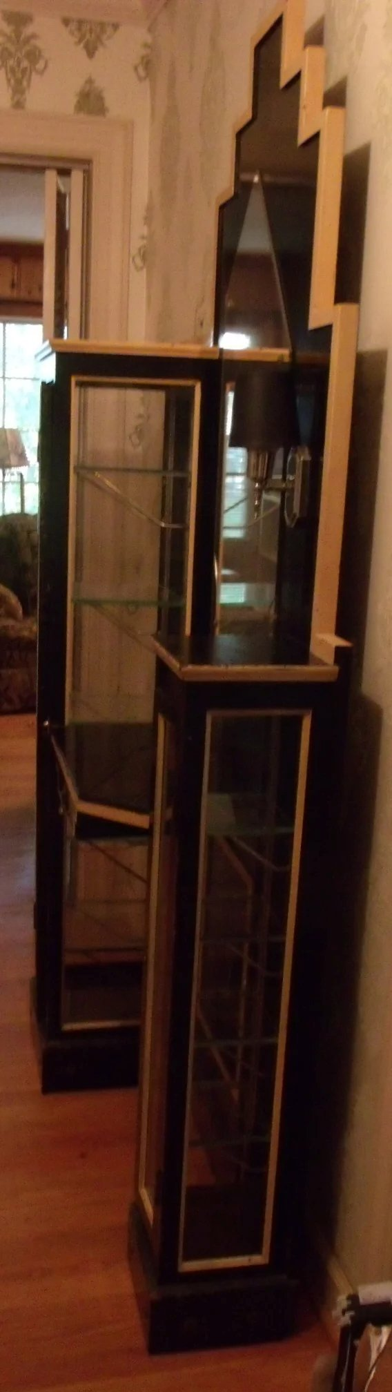 Glass Display Case From 1920 Carolines Collectibles