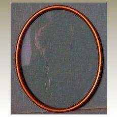 Frame Oval Vintage Gold