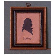 Silhouette Thomas Jefferson