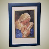 Madonna and Child Framed Art Miniature