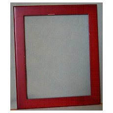 Cranberry Picture Frame Painted