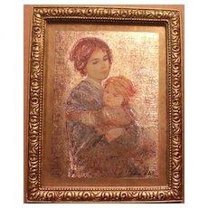 Madonna and Child Mini Print