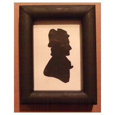 Silhouette in Miniature of Lady