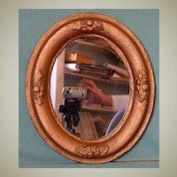 Antique Oval Mirror