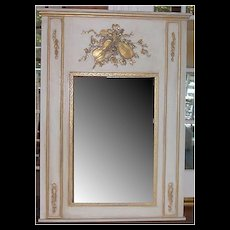 Mirror with MusicTrumeau Motif Onlays