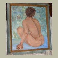 Nude Woman-Original Oil Painting