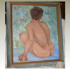 Nude Woman-Original Oil Painting