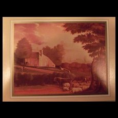 Edward Hicks Lithograph Art Works