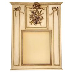 Musical Instruments French Trumeau Mirror