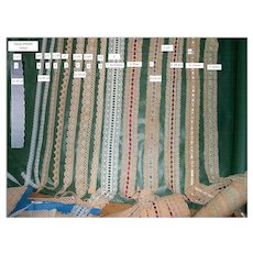 Lace Trims-Cluny Lace-Ribbon Lace