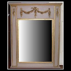 Trumeau French Style Wall Mirror