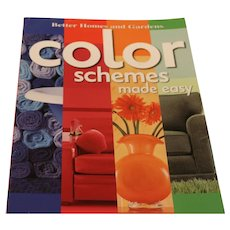 Book:  Color Schemes Made Easy