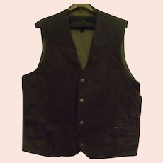 Vest by Structure in Leather