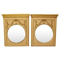 Twin Trumeau Mirrors  FREE SHIPPING