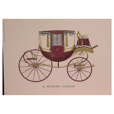 Cars-Vintage Travel Coaches-Buggy-Brett-Barouche-Coupe Rockaway-Transportation