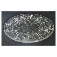 Consolidated Dancing Nymphs Plates in Crystal
