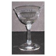 Fostoria Champagne Glasses, set of 9