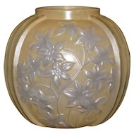 Phoenix Reuben Yellow Starflower Vase