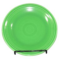"Fiesta Medium Green 9"" Plate"