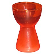 Morgantown Barton candleholder in Gypsy Fire