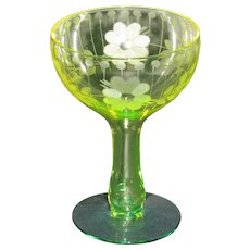 Utility Glass Works Hollow Stem Champagne Glasses
