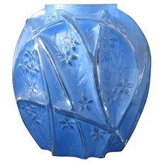 Consolidated Reuben Blue Large Line 700 vase