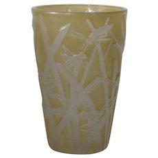 Consolidated Katydid Tumbler Vase