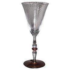 Tiffin Stem# 15003 Water Glasses